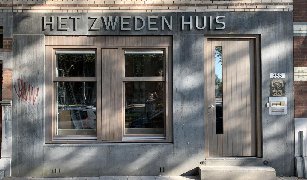 Het zweden huis in Rotterdam