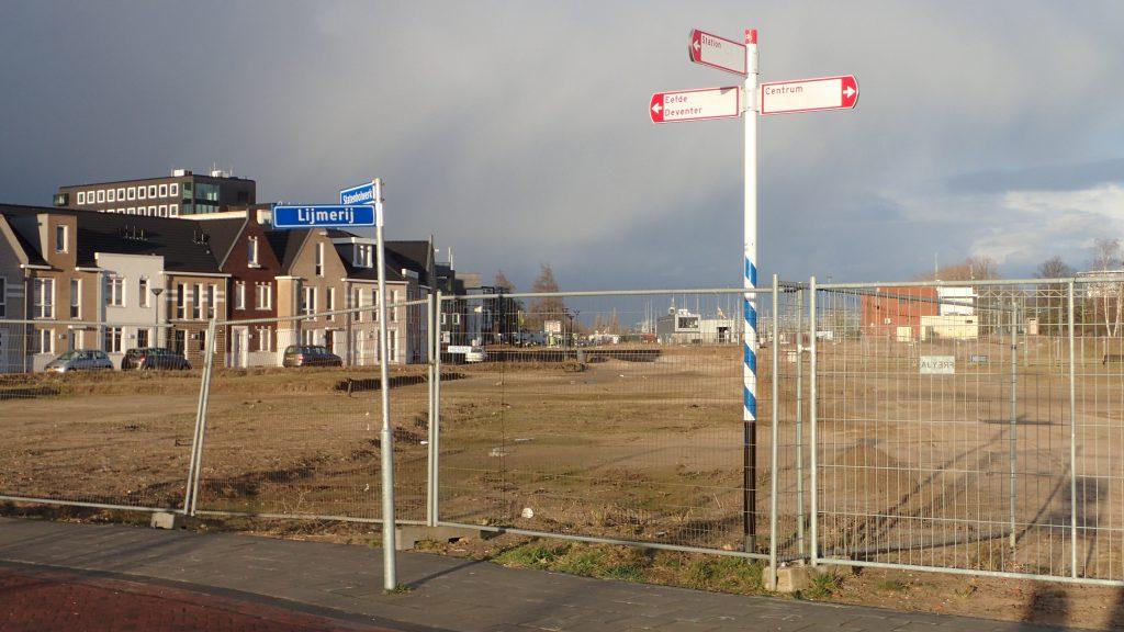 Bouwlocatie Ubuntuplein Zutphen